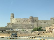 Bahla Fort Royalty Free Stock Images