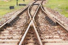 Bahnübergang Stockbilder