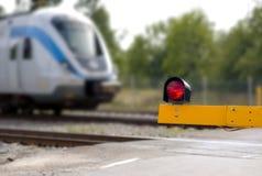 Bahnübergang Lizenzfreies Stockbild