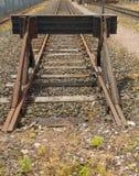 Bahn-Enden Lizenzfreies Stockfoto