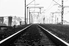 Bahn hat so viele Reiseerzählungen stockfotos