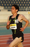 Bahn-Laufathlet Cam Levins Stockfoto