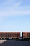 Bahn-LKWs Stockbild