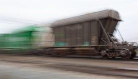Bahn-Russland Waggons Lizenzfreies Stockfoto