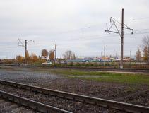 Bahn-Russland Waggons Lizenzfreie Stockbilder
