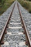 Bahn- und grasartig vom Gras lizenzfreies stockfoto