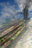 Bahn zum Himmel Stockbilder