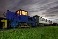Bahnabstellgleise Stockfotografie