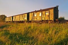 Bahnautos Stockfoto