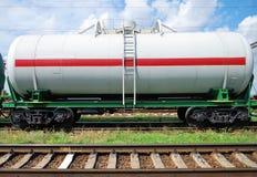 Bahnbecken mit Schmieröl stockfotografie
