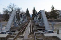 Bahnbrücke Stockfoto
