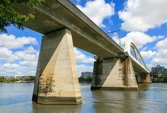 Bahnbrücke, Brisbane-Fluss Lizenzfreie Stockfotografie
