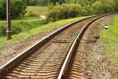 Bahndrehung 2 stockfotografie