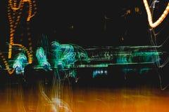 Bahnen des Lichtes Lizenzfreie Stockfotografie