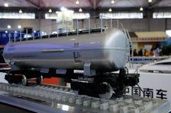 Bahnfahrzeugbaumuster auf WCIF 2012 Lizenzfreies Stockfoto