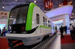 Bahnfahrzeugbaumuster auf WCIF 2012 Lizenzfreie Stockfotografie