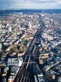 Bahngleis London Südost Lizenzfreie Stockbilder