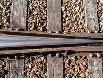 Bahngleise Lizenzfreie Stockfotografie