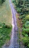 Bahngleise in Nashville Tennessee Lizenzfreies Stockfoto