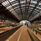 Bahnhauf Fotografie Stock