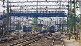 Bahnhof Stockfotos