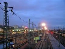 Bahnhof Lizenzfreies Stockfoto