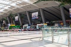 Bahnhof - Abflughalle Stockfoto