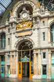Bahnhof in Antwerpen Belgien Stockfotografie