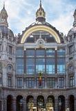 Bahnhof in Antwerpen Belgien Stockfoto