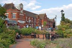 Bahnhof, Basingstoke, Hampshire Stockbild