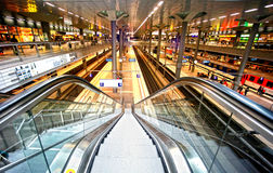 Bahnhof Berlin Stockfoto