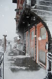 Bahnhof in Boden Lizenzfreies Stockfoto