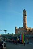 Bahnhof des Herrn-Sint-Pieters, der Hauptanschluss der Stadt von Gent Lizenzfreie Stockfotografie