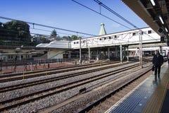 Bahnhof des JR. in Tokyo, Japan Stockbilder