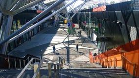 Bahnhof Garibaldi, Neapel, Italien Stockbilder