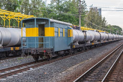 Bahnhof Khonkaen-Zugs Stockbilder