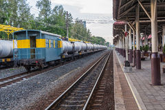 Bahnhof Khonkaen-Zugs Stockfoto