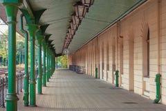 Bahnhof in Krakau Stockfotografie