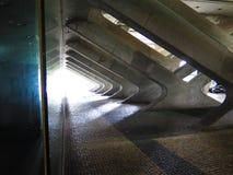 Bahnhof Lissabons Oriente Stockbild