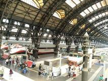 Bahnhof Mailand-Centrale Lizenzfreies Stockbild