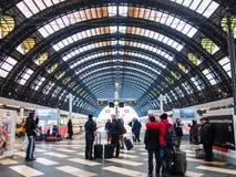 Bahnhof Mailands Centrale Stockfotografie