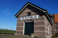 Bahnhof Medemblik Stockfotografie