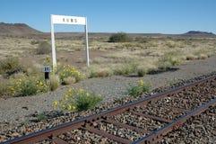 Bahnhof Namibia Stockfotos