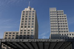 Bahnhof Potsdamer Platz Royalty-vrije Stock Afbeelding