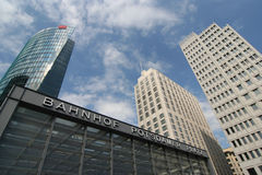 Bahnhof Potsdamer Platz Royalty Free Stock Photos