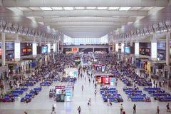 Bahnhof Shanghai-Hongqiao Stockfotografie