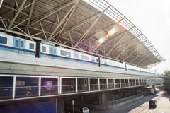 Bahnhof Tanwei in Guangzhou Lizenzfreie Stockbilder