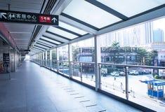 Bahnhof Tanwei in Guangzhou Lizenzfreies Stockfoto