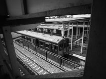 Bahnhof Thailand Nakhonratchasima Stockbilder