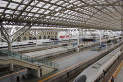 Bahnhof TsingDao Lizenzfreies Stockbild